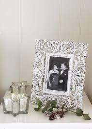 retreat home ornate white picture frame 6 x 4