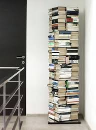 revolving shelves contemporary bookcase in lacquered stainless steel rotating by revolving closet shelves revolving shelves