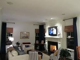 in wall surround sound great room surround sound installation with in wall speakers and a all