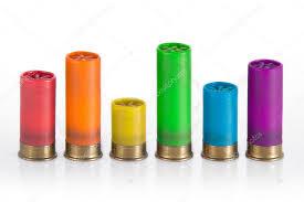 Rainbow Shotgun Ammo Chart Stock Photo Abotusan 8854240