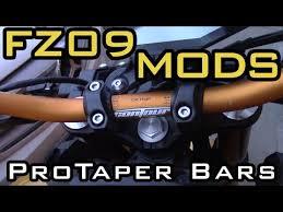 <b>FZ09</b> Mods - Pro Taper <b>handlebar</b> Swap - YouTube