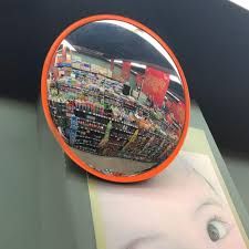 Yescom 18in Indoor Security Safety Convex <b>PC Mirror</b> Wide Angle