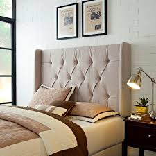 samuel lawrence furniture tan full queen headboard