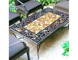 tile dining table tiled dining table elegant mosaic tile patio table designs rectangular mosaic tiled coffee tile dining table