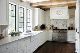 La Cornue CornuFe Range Cottage Kitchen Litchfield Designs Extraordinary La Cornue Kitchen Designs