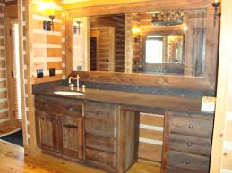 Rustic Bathroom Vanities And Sinks Presenting Rustic Bathroom Vanities In Your House Bathroom Ideas