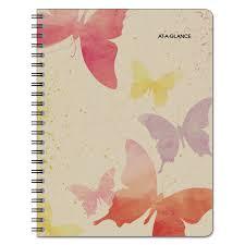 Watercolors Weekly Monthly Planner 11 X 8 1 2 Watercolors