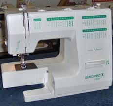 Euro Pro Sewing Machine Website