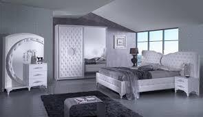 Design Schlafzimmer Set In Weiß Natalia 4 Teilig Ebay