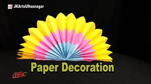 diy eco friendly backdrop ganpati decoration jk arts 1057