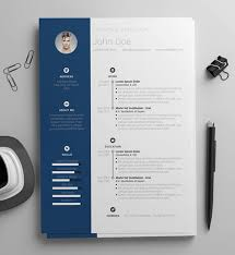 Best Modern Clean Resume Design 20 Free And Premium Word Resume Templates Download