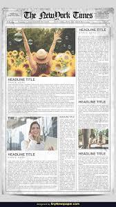 Harry Potter Newspaper Template Newspaper Templates For Word Newspaper Google Docs Slides