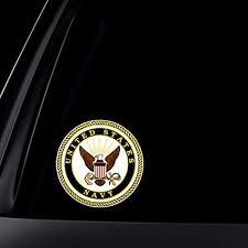 Decor Designs Decals Norman Ok Interesting Amazon US Navy Car Decal Sticker By World Design Automotive