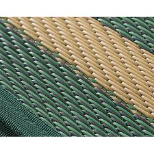 heavy duty colorfast fabric weave guide gear reversible outdoor rug 6 foot x 9 foot to zoom guide