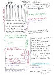 diffe shower curtain diy tutorial aboutgoodness com