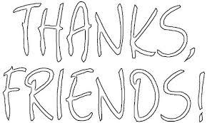 Bedankt Vrienden Kleurplaat Gratis Kleurplaten Printen