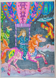 sweet dreams color me 4 colouring p j c smart coloured by judy boechler