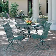 image of wrought iron patio furniture sets