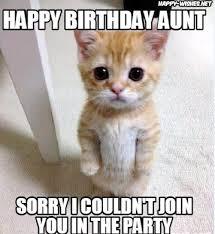 happy birthday meme aunt