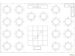 Wedding Chart Seating Template Round Table Seating Capacity Round Table Wedding Seating Chart
