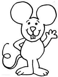 Coloring Page Mouse Mickey Pages To Print Free Birthday Coloring