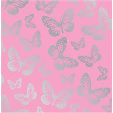 Pink Wallpaper For Bedrooms Silver Butterflies On Pink Butterflies And Sundry Eyes