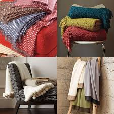 Boucle Throw Blanket