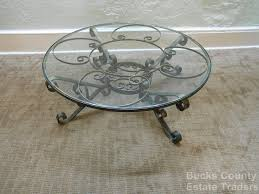 wrought iron glass coffee table afla inspire cast and pertaining to 7