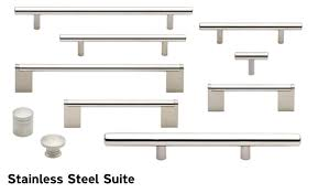 cabinet pulls. Cliffside Industries Stainless Steel Suite Decorative Cabinet Hardware Pulls