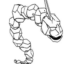 Onix Pokemon Of Brock Coloring Page Pokemon Pokemon