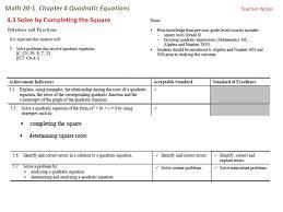 math 20 1 chapter 4 quadratic equations