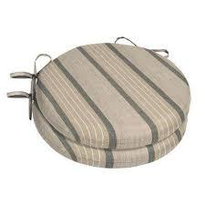 15 x 15 sunbrella cove pebble round outdoor chair cushion