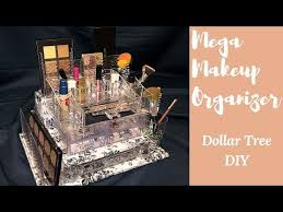 diy the ultimate bling makeup organizer 1 dollar tree s you