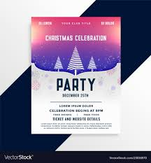 Free Holiday Party Templates Christmas Brochure Templates Free Holiday Party Flyer
