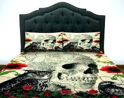 bed set skulls comforter sets skull bedding sets full skull bedding comforter set duvet cover day of the skulls comforter sugar skull duvet cover canada