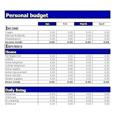 Monthly Expenses Calculator Monthly Expenses Spreadsheet Template Excel