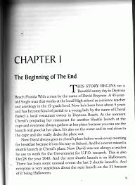 Possibly The Best First Page Of The First Chapter Of Any