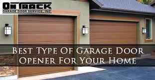 types of garage door openersOn Track Garage Door Blog  Your go to blog for information about