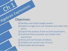 algebraic expressions edexcel a level year 1 as pearson ch 1 by dosli teaching resources tes