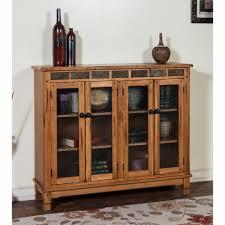 Sedona Furniture Sunny Designs Sunny Designs Sedona Bookcase W 4 Doors 2813ro