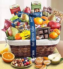feel better fruit sweets gift basket