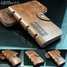 custom leather wallets cute men s long leather purse k1
