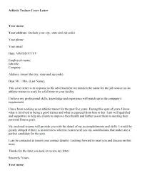 Email Cover Letter Examples For Resume Cover Letter For Sports Job