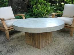 outdoor concrete coffee table round top inspiration for craft but on casters t11 coffee