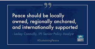 Ipi Quote Extraordinary Intl Peace Institute On Twitter What Are The Key Messages Emerging