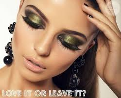 qc makeup academy google shimmering green eyes love it or leave it