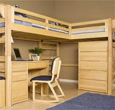 nice full loft bed with desk plans plans to build a full size loft bed wooden global
