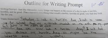 contrast in essay prompts second grade