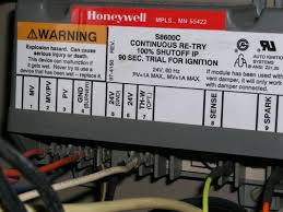 replacing a honeywell s8600c furnace ignition control graphic graphic