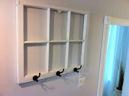 Old Window Coat Rack DIY coat rack from an old window with dry erase marker window panes 2